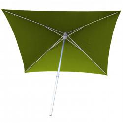 Parasol Arcachon Vert Limone 200 x 250 cm : vu de dessous