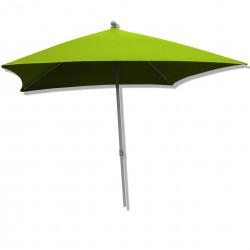 Parasol Arcachon Vert Limone 200 x 250 cm : vu de face