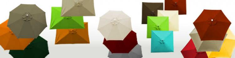 Armatures,toiles pour parasols Lacanau et housses de protection