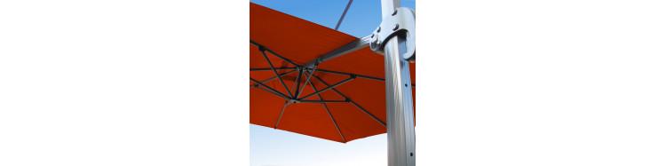 Parasol avec mât déporté Biscarrosse 3x3 Aluminium