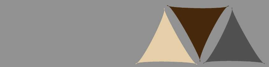 Voiles d'Ombrage triangles, rectangles et carrées. Fabrication de qualité