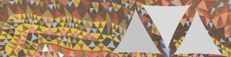 Voiles d'Ombrage Triangulaires en 2 dimensions : 360 cm de coté et 500cm de coté