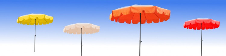 Parasol design a l'italienne