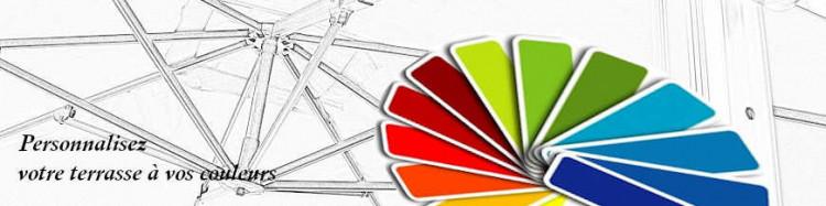 La gamme des couleurs des Toiles de remplacement pour Parasols Déportés Carrés 3x3 et Octogonaux 350 cm pour personnaliser votre Terrasse