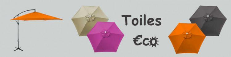 TOILES  €c☼ 300 cm 6 cotés