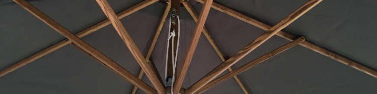 Parasol Biarritz 300 cm Frêne&Cordon