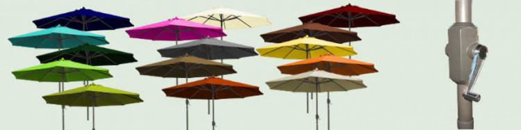 Le site de «La Boutique du Parasol» vous propose son Parasol de Terrasse modèle Lacanau-Océan Diamètre 300 cm à manivelle.