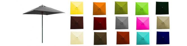 Le site de «La Boutique du Parasol.fr » vous propose le Parasol de Terrasse modèle Lacanau Carré 2 x 2 Alu