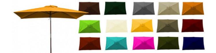 Le site de «La Boutique du Parasol» vous propose son Parasol de Terrasse modèle Lacanau Rectangle 200 x 300 cm armature bois.