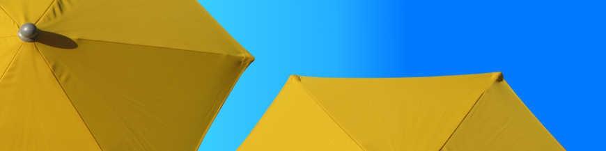 Parasols Jaunes : Les Parasols  de notre collection avec Toiles de couleur Jaune