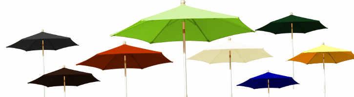 parasol Arcachon 300 cm et ses couleurs de toiles