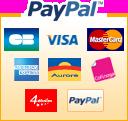 Paypal : réglez par compte Paypal ou par carte bancaire