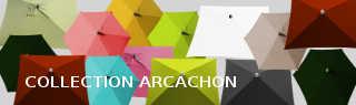 Tous les parasols de la collection Arcachon